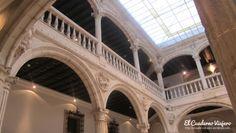 Interior palacio renacentista Escoriaza Esquivel.  Vitoria