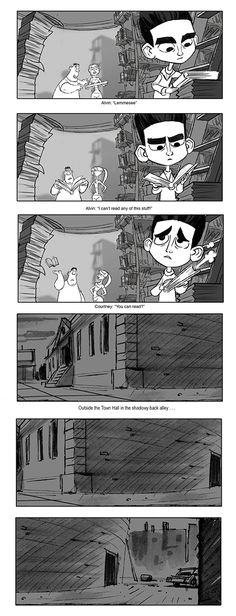 Laika Entertainment  Focus Features Some Storyboard Panel By Matt