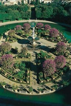 Boboli Gardens in Florence - Tuscany, Italy