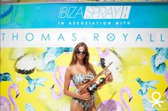 Thomas Royall with Ocean Club spray party #ThomasRoyall #RoyallTreatment #OceanClub