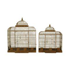 Found it at Wayfair - 2 Piece Haven Decorative Bird Cage