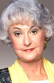 """Beatrice """"Bea"""" Arthur (May 13, 1922 – April 25, 2009). Type of cancer: possibly lung. (She died of cancer but reps never confirmed it was lung.) Age: 86."""