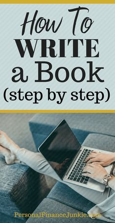 How to write a book. Step by step guide on how to write a book. Beginners guide to writing a book. How to write a book outline. Fiction or nonfiction. Follow the easy writing process in the article. Publish your first book soon.