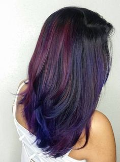 Putting bright colors in your hair can be so much fun! Any color of the rainbow is literally at your fingertips, including all sh