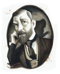 Bram Stoker was born in Dublin, Ireland on this day in 1847. #BramStoker #FernandoVicente #Dracula