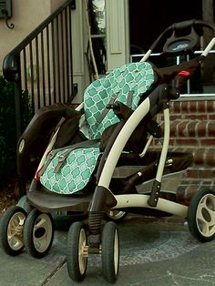 Re-cover your stroller!