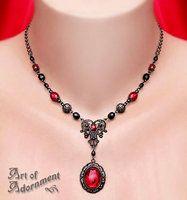 Lucrezia Pendant Necklace by ArtOfAdornment
