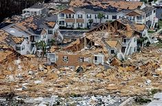 According to a report given at Building Online, The American Redcross estimated approximately 275,000 houses were destroyed in Louisiana, 65,000 in Mississippi and Alabama during Hurricane Katrina.