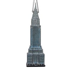 "6.5""NOBLE GEMS #CHRYSLERBUILDING ORNAMENT"