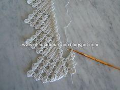 OFICINA DO BARRADO: Croche - Um barrado gostoso de fazer . . .