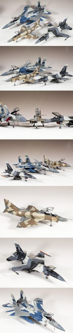 Collection of agressors – all in 1/48 scale