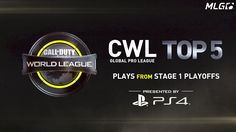 Splyce becomes the first EU team to win a North American Call of Duty World League event and Luminosity Gaming's Octane makes a two-time appearance in the Top 5 Plays from Stage 1 Playoffs Presented by PlayStation 4.