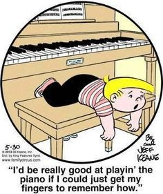 Sorry, it's not that easy! Family Circus by Bil and Jeff Keane, May 2013 - Sorry, it's not that easy! Family Circus by Bil and Jeff Keane, May 2013 Piano Lessons, Music Lessons, Piano Funny, Family Circus Cartoon, Music Jokes, Flute Jokes, Funny Music, Piano Recital, All Family