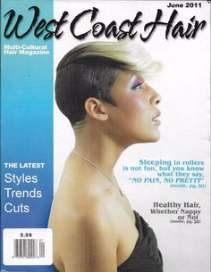 West Coast Hair magazine Styles Trends Cuts Natural Long Mid length Mens Kids