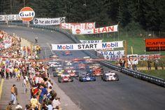 """Photo """"Jo Siffert et Jackie Stewart au Grand Prix d'Autriche en 1971"""""""