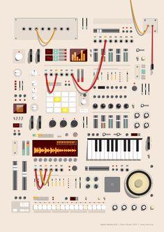 Hamo Studio | Ilustración - Audio Session Kit (商用OK)