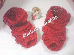 Sandalias rojo