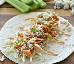 Buffalo Chicken Tacos | Community Post: 11 Insanely Easy And Delicious Summer Taco Recipes