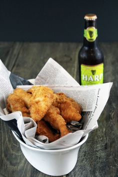 Want to know the secret to the most perfect battered chicken or fish? It's BEER! Check out this delicious beer batter recipe by clicking on the photo!