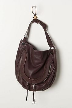 Saddle style bag from Anthropologie.