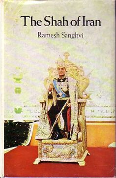 Picture of the shah from biography book 1969: Shah of Iran, by Ramesh Sanghvi