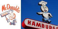 """Primera mascota de McDonald's: Speedee. Diseñadoa por Stanley Clark Meston"" http://www.weimark.es/brann/mcdonalds-la-historia-de-el-fundador-de-la-comida-rapida/ #Branding #Logo"