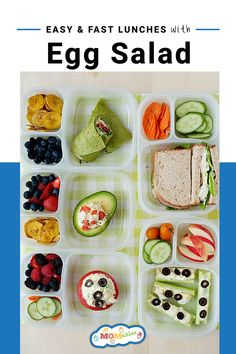 Check out these easy and fast egg salad recipes to spice up your lunches this week! #Lunchtime #Healthylunch Healthy Wraps, Healthy Recipes, Lunch Recipes, Salad Recipes, Easy Lunch Boxes, Box Lunches, Easy Egg Salad, Lunch Items, Healthy School Lunches