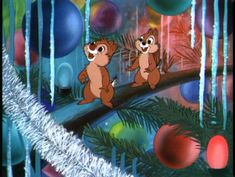 Chip 'n' Dale Online Gallery | Chip n Dale Rescue Rangers - 1952: Pluto's Christmas Tree/Plutos Christmas Tree (9)