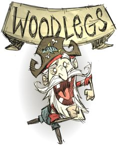 Woodlegs | Don't Starve Shipwrecked