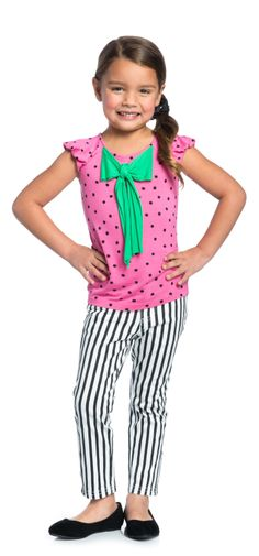 Dotty Cool Outfit  - PIN TO WIN! Enter the February Fresh Pinterest Contest for a chance to win a brand-new FabKids wardrobe! Ends 2/19#FabKidsFebFresh @FabKids