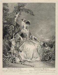 Jean-Antoine Watteau | Retour de chasse | Images d'Art