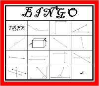 Classroom Freebies Too: FREE Geometry BINGO!