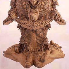 3D printed Vishvarupa sculpture... Next phase- bronze casting with gemstone inlay