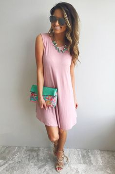 Part Of Me Dress: Blush