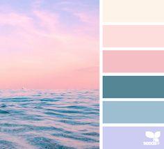 Such an inspiring color palette -horizon hues