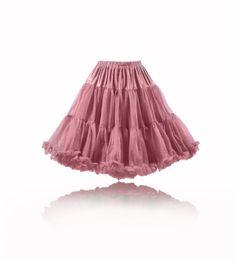 Petticoat & Unterrock - Petticoat Pettycoat altrosa - ein Designerstück von myrockabillymode bei DaWanda