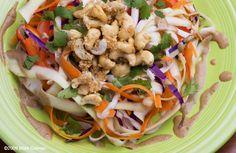 Raw Pad Thai Salad Recipe