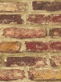 wallpaper that looks like brick - quick and easy look
