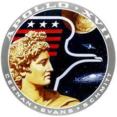 1972  Astronauts- Eugene A. Cernan, Harrison H. Schmitt and Ronald E. Evans Apollo 17 had the first scientist-astronaut to land on the moon in Harrison Schmitt.