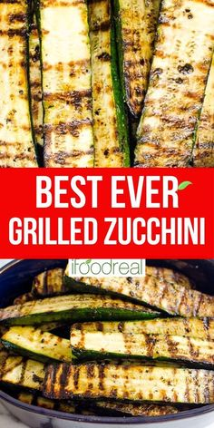 Bbq Zucchini, Zucchini Side Dishes, Grilled Side Dishes, How To Cook Zucchini, Zuchinni Recipes, Healthy Side Dishes, Vegetable Side Dishes, Side Dish Recipes, Vegetable Recipes