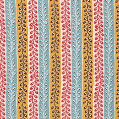 Seedpod Stripe Turquoise ~ Flea Market Fancy @ Sew,Mama,Sew!