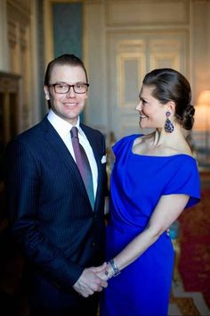 Daniel and Crown Princess of Victoria of Sweden