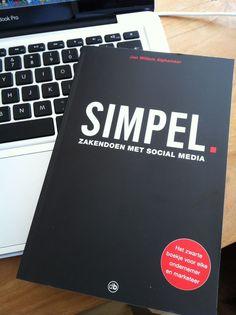 Mark Bastiaans @myJoydy    Eigenlijk is social allemaal niet zo moeilijk #simpel @jwalphenaar