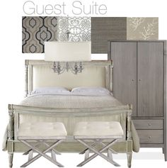 """guest suite"" by cfromson ❤ liked on Polyvore"