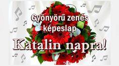 gerbera-katalin Name Day, Gerbera, Clubwear, Christmas Wreaths, Holiday Decor, Birthday, Places, Art, Art Background