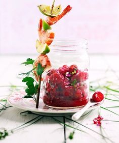 Foto: Aina C. Grill N Chill, Time To Eat, Chipotle, Chutney, Kiwi, Barbecue, Diet Recipes, Panna Cotta, Raspberry