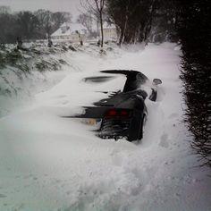 Snowwhite Audi R8 Spyder | too much quattrosnow