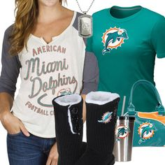 Cute Miami Dolphins Fan Gear