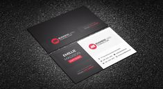 Free Stunning Red Corporate Business Card Template => More at designresources. Free Business Card Templates, Free Business Cards, Business Card Holders, Print Templates, Business Card Design, Templates Free, Diy Stationery Cards, Caravan, Invoice Template