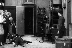"alifefullofyou: "" "" Charlie Chaplin in The Pawnshop (1916) and The Cure (1917) "" "" Ta Da - a nod to the audience, something he did to acknowledge the viewers. These 2 scene though priceless :) "" In the silent era, many artists broke the fourth wall,..."